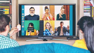 Friend meet using online video