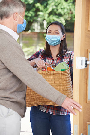 Grocery delivery during the COVID-19 pandemic