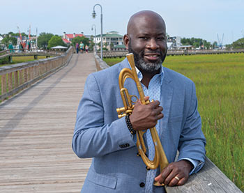Charlton Singleton, co-founder of the Charleston Jazz Orchestra and member of the Grammy-winning band Ranky Tanky
