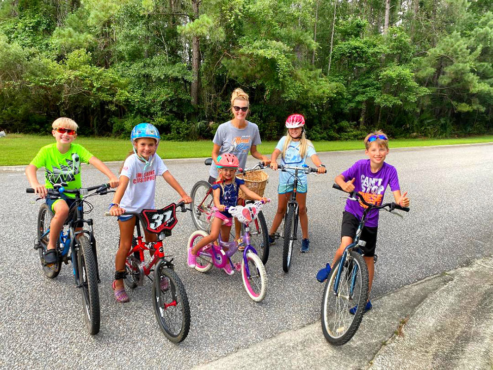 Biking East of the Cooper. Photo by Juli Kaplan.