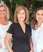 Franne Schwarb, Chari Karinshak and Yvette Grist of Coldwell Banker Residential