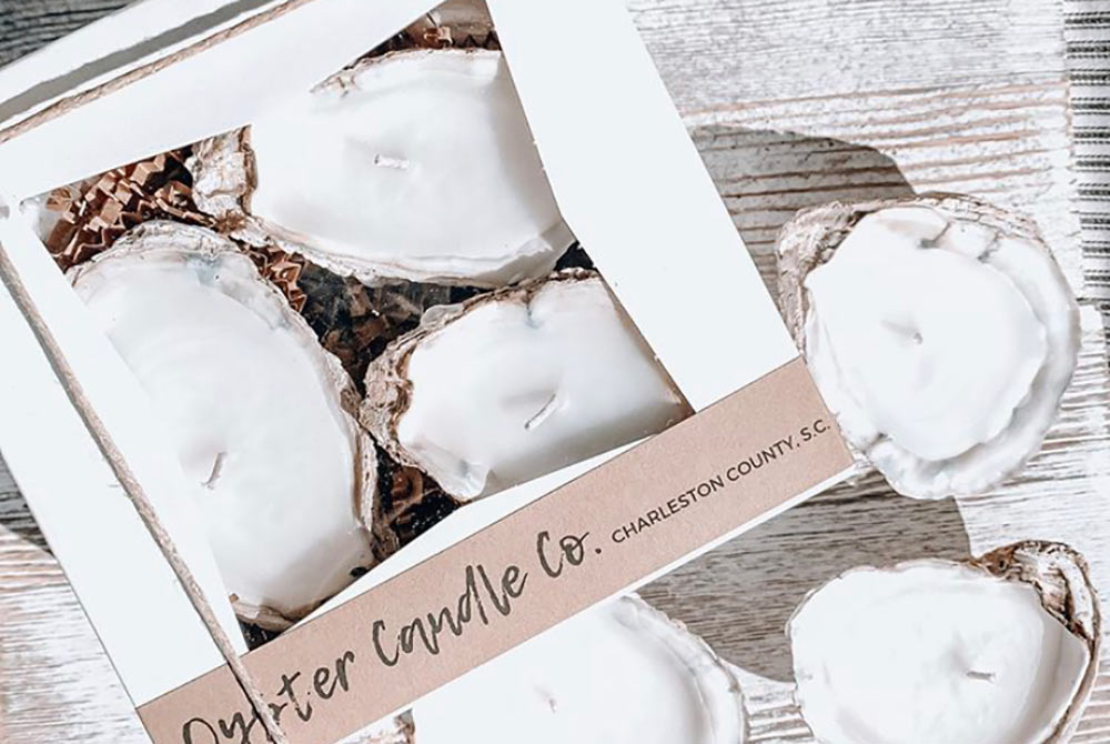 Photo of an Oyster Candle Company package