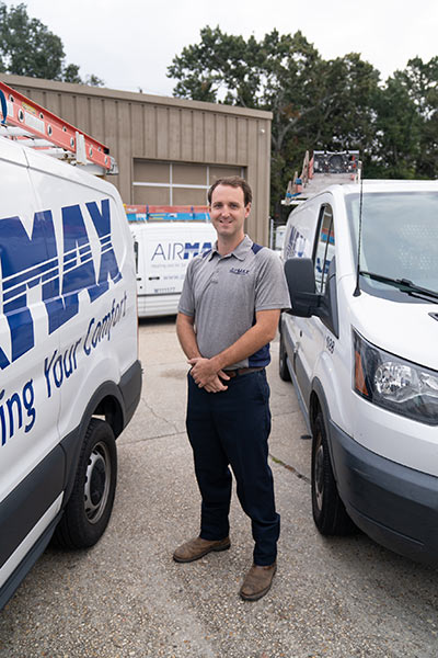 Lief Erickson Enjoys the Perks of Working for Family-Owned Charleston Heating and Cooling Company AirMax