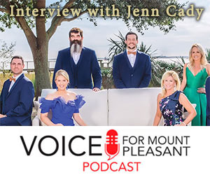 Click to Watch & Learn More: Jenn Cady on the VOICE for Mount Pleasant Podcast