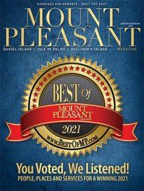 Mount Pleasant Magazine Jan/Feb 2021 Best of Mount Pleasant Issue