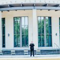 Deputy Chief of Mount Pleasant PD Mark Arnold stands outside of Mount Pleasant, SC Town Hall.