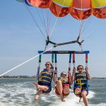 Parasailing over the Lowcountry: Up, Up and Away….