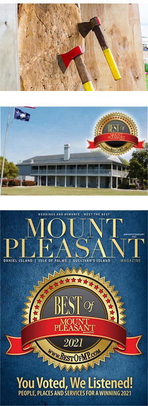 The 2021 Best of Mount Pleasant Party will be held at Alhambra Hall in Mount Pleasant, SC