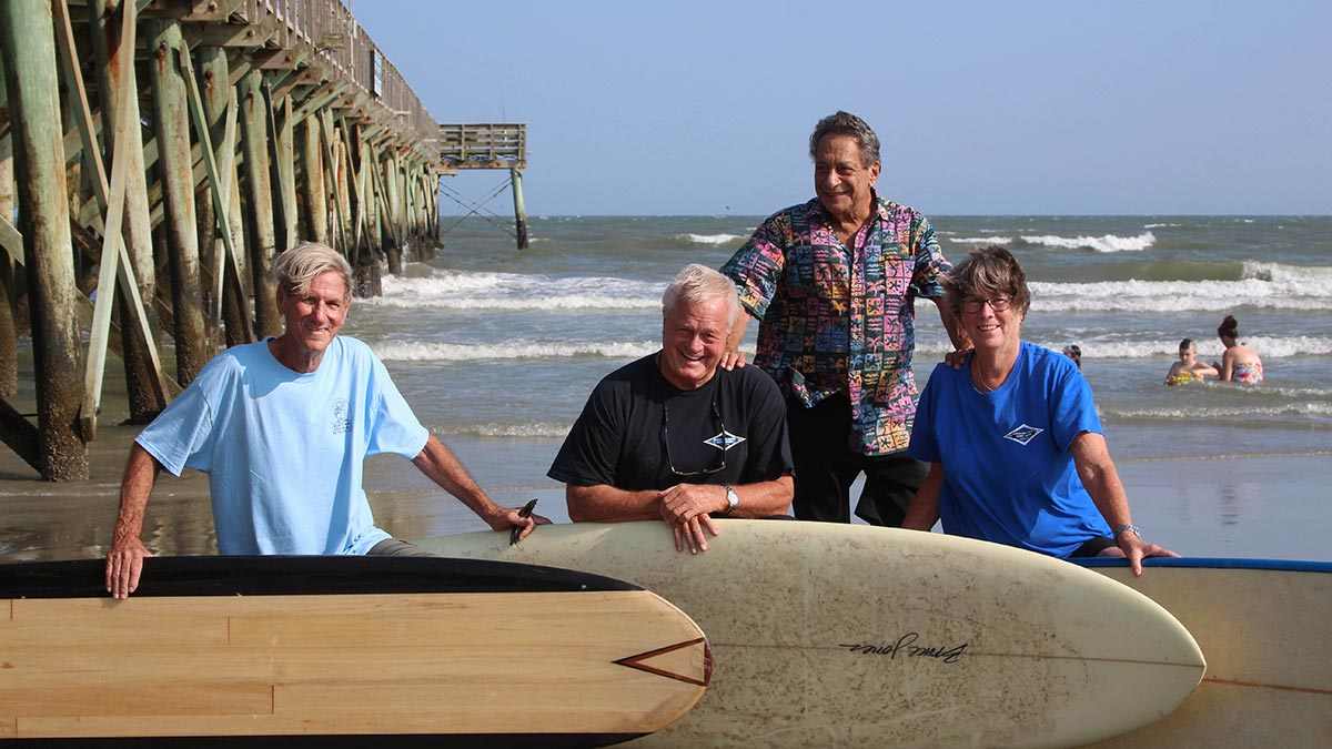 Carolina Coast Surf Club, believed to be the nation's oldest active surf club. Photos by William Beebe.
