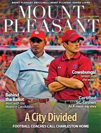 Mount Pleasant Magazine's most recent magazine cover