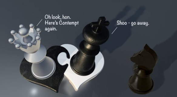 Avoid contempt to stop constant arguing