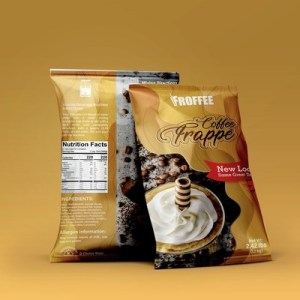 Froffee 2.4 lb. Original Coffee Frappe Mix