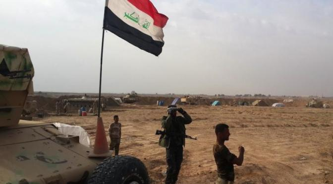 Iraqi army and militias