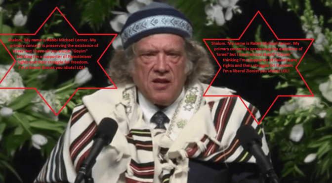 rabbi michael lerner edited