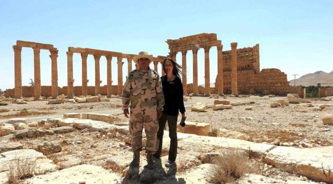 Eva Bartlett Does Humanity A Favor: Rips Anti-Syria Hasbaranik Stephen Zunes To Shreds