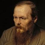 Painting of Fyodor Dostoevsky.