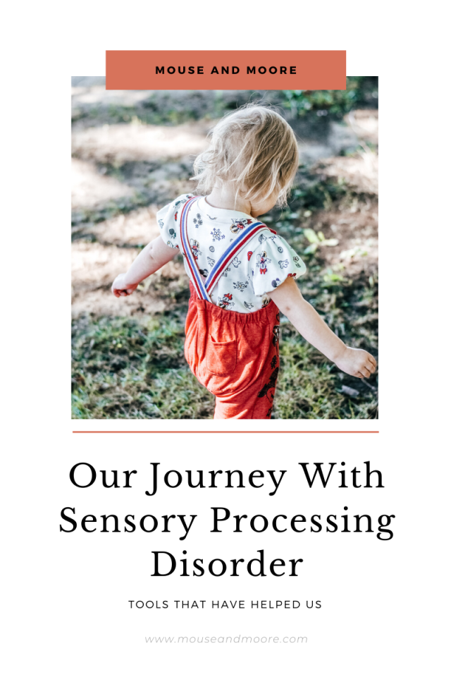 Blog Graphic for Our Journey with Sensory Processing Disorder