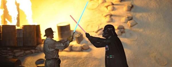 Darth Vader vs. Indiana Jones at Disney's Hollywood Studios?