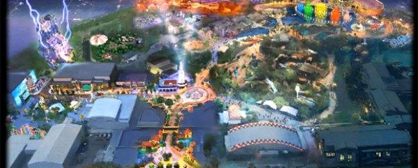Disney's Blue Sky Cellar shows us an animated DCA map
