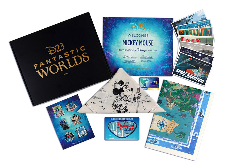 FIRST LOOK: Immerse yourself in Disney's fantastic worlds with 2020 Disney D23 Membership Gift