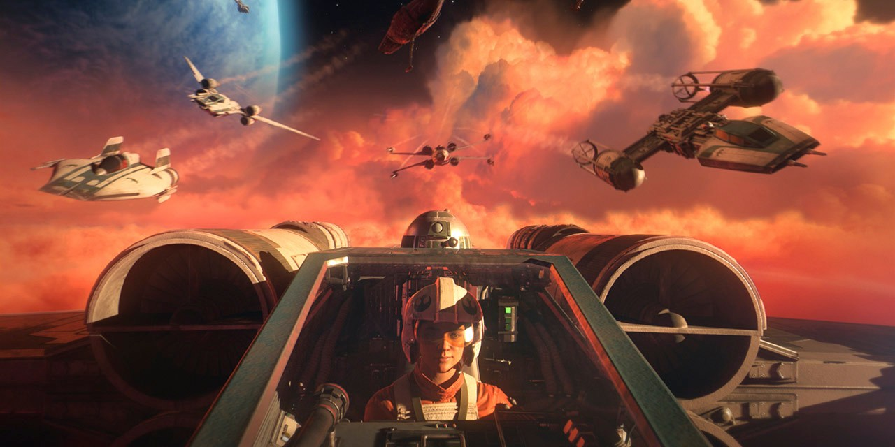 DETAILS: New STAR WARS: SQUADRONS game launches Oct. 2 offering VR gameplay, in-universe details, and more