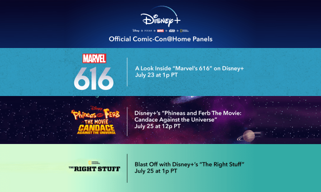 #SDCC – Comic-Con@Home will feature three panels for #DisneyPlus; Phineas and Ferb, Marvel, and Nat Geo