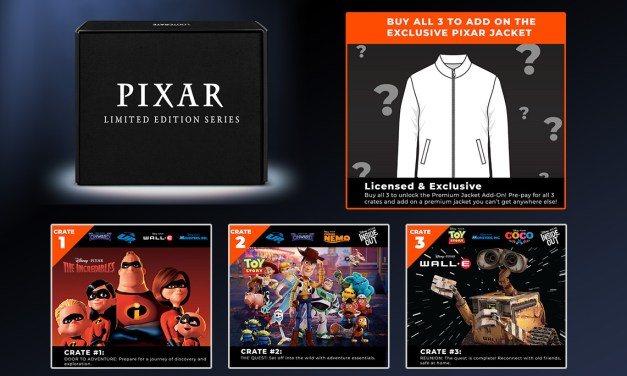 Pixar X Loot Crate limited edition series to launch, includes exclusive Pixar Jacket