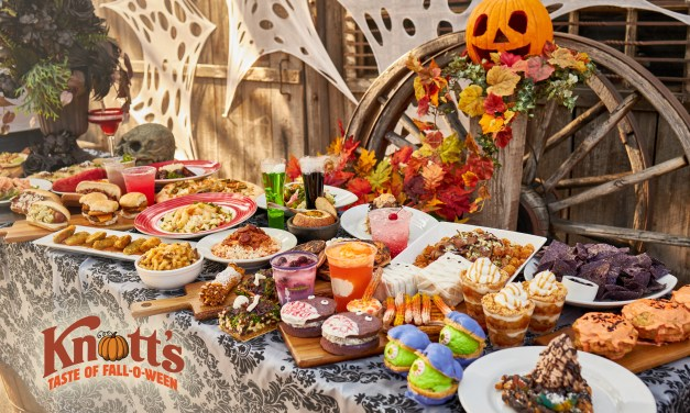 KNOTT'S TASTE OF FALL-O-WEEN introducing GREAT PUMPKIN (FUN) BUN plus tons of other treats and sweets