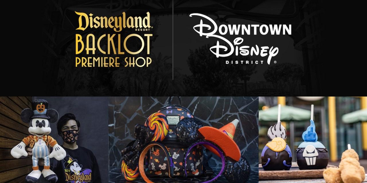 "Fall merchandise push adds new ""Disneyland Resort Backlot Premiere Shop"" inside of DCA, Stage 17"