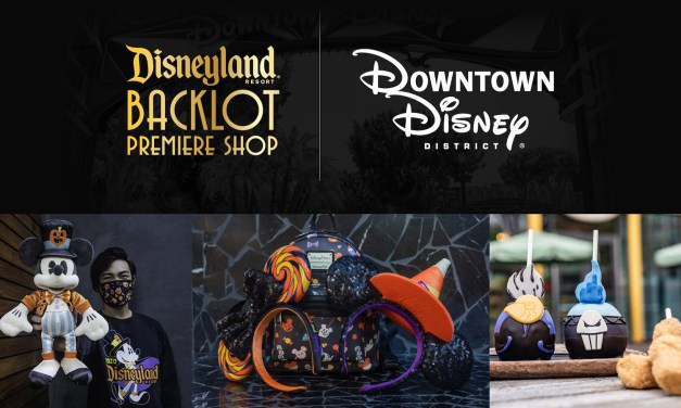 "Fall merchandise push adds new ""Disneyland Resort Backlot Premiere Shop"" inside of DCA, Stage 17"