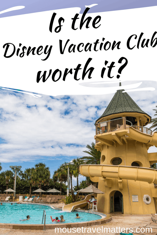 Is the Disney Vacation Club worth it? Find out if the popular time share program at Disney World, Disneyland and travel locations around the world is a good fit for your family. One Traveling Mom (and DVC member) weighs in on the timeshare benefits, overall cost and more details about points.  #DVC #DisneyTips