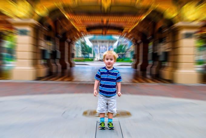 Disneyland Paris ready for the morning