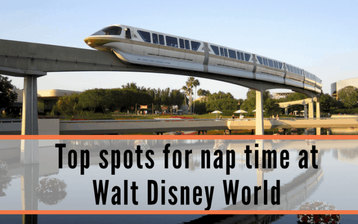 nap time at Walt Disney World