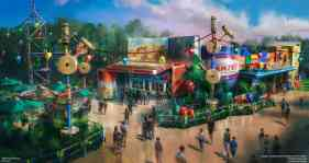 Aug 16, 2015. Woody's Lunch Box concept art. Copyright 2015 The Walt Disney Company.