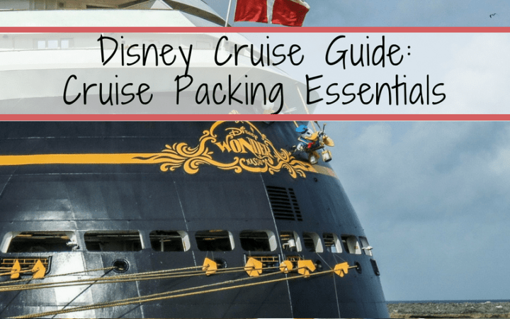Cruise packing lists can be endless. Assuming you have your clothes and toiletries packed, follow these tips and tricks for additional packing help