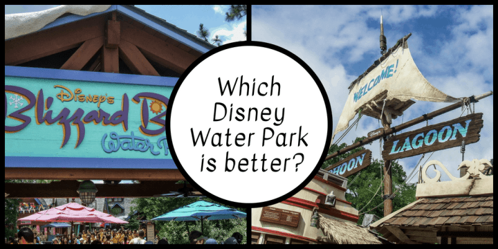 Blizzard Beach vs. Typhoon Lagoon: Battle of the Disney World water parks   Which one should YOU choose?   #disneyparks #disneyworld #disneytips