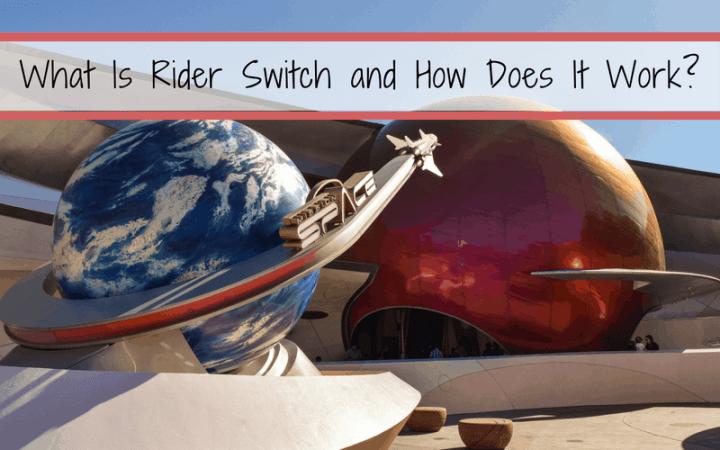 Walt Disney World Attractions Offering Rider Switch