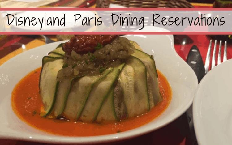 Disneyland Paris launches online restaurantreservations
