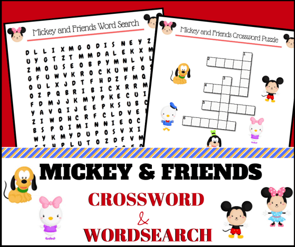 mickey and friends crossword 1