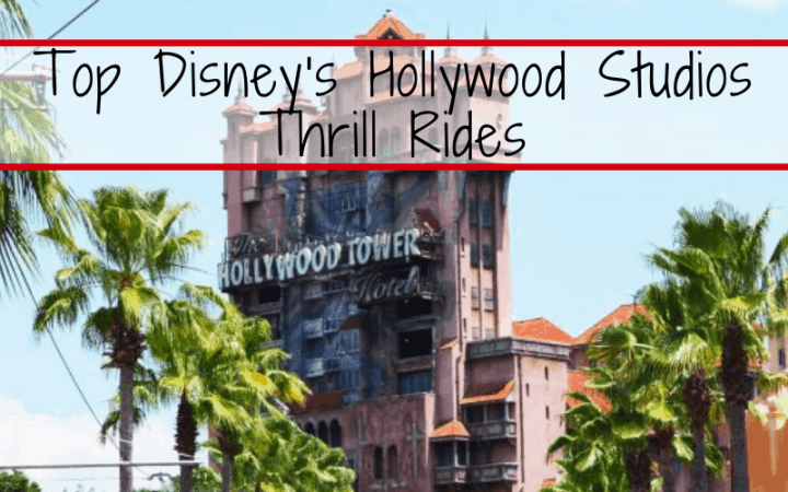 Top Thrill Rides at Disney's Hollywood Studios