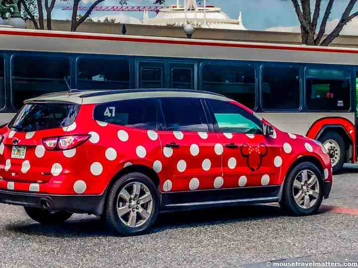 Everything you need to know about the Minnie Van service at Walt Disney World