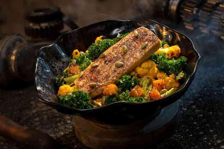 Oven-roasted Burra Fish ©Disney Parks