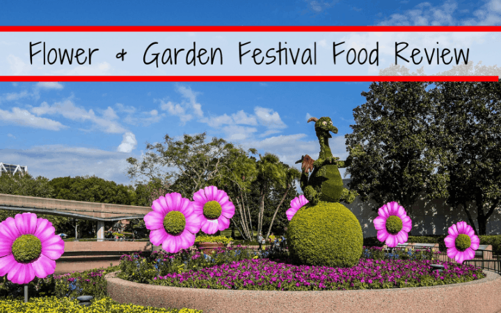 Epcot's Flower and Garden festival is going strong, and one of the highlights is the Flower and Garden Festival food booths! Check out some of the best of the fest this year.