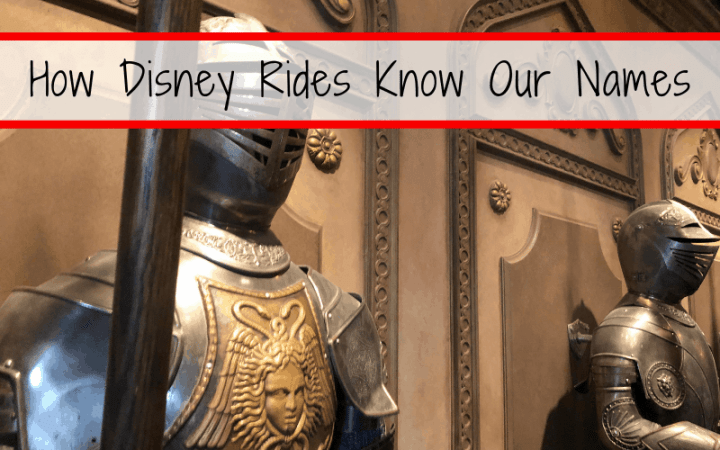 How Disney Rides Know Our Names and what does this mean for my privacy?