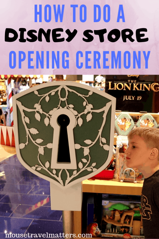 I hope it's given you all the information you need to take part in a Disney store opening ceremony yourself!  This was such a fun experience and a great way to infuse a bit of Disney magic into our day.