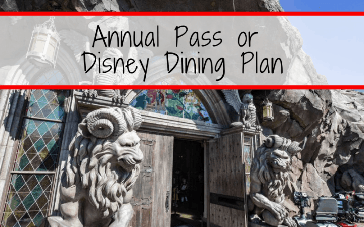 Annual Pass or Disney Dining Plan