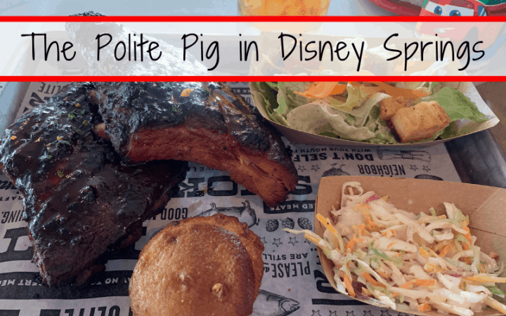 Dining Review: The Polite Pig in Disney Springs