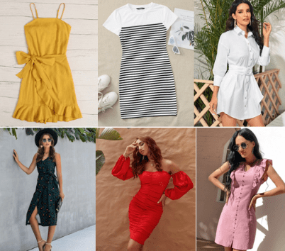 ▷ Tendencias en Vestidos de Algodón Bonitos | HN