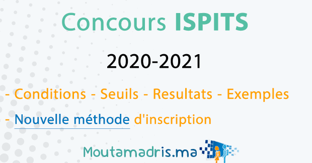 concours ISPITS 2020-2021