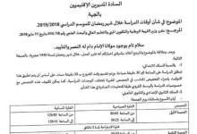 اوقات الدراسة في شهر رمضان 2019 بالمغرب